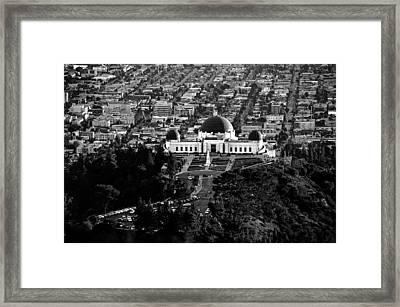 Griffith Observatory Framed Print by Art K