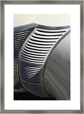 Grill Work Framed Print by Joe Kozlowski
