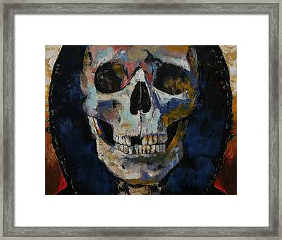 Grim Reaper Framed Print by Michael Creese