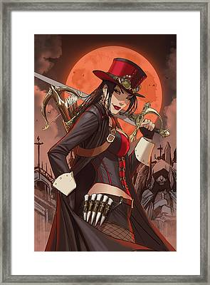 Grimm Fairy Tales Unleashed Vampires 02a Framed Print by Zenescope Entertainment