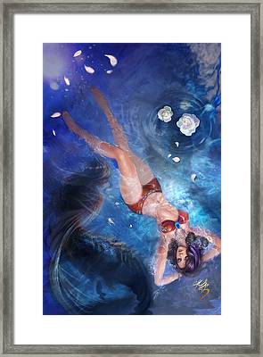 Grimm Myths And Legends 09b - Little Mermaid Framed Print by Zenescope Entertainment