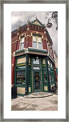 Grinnell Iowa - Downtown - 02 Framed Print by Gregory Dyer