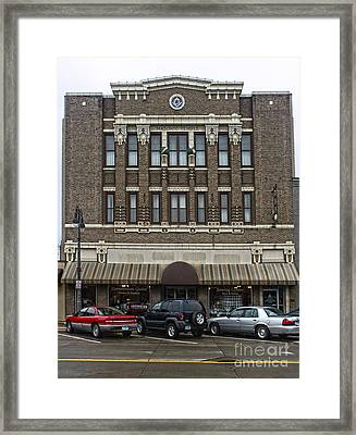 Grinnell Iowa - Masonic Temple -02 Framed Print by Gregory Dyer