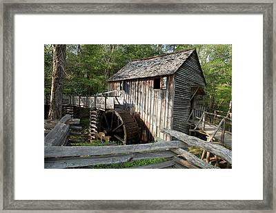 Grist Mill Framed Print by Jim West