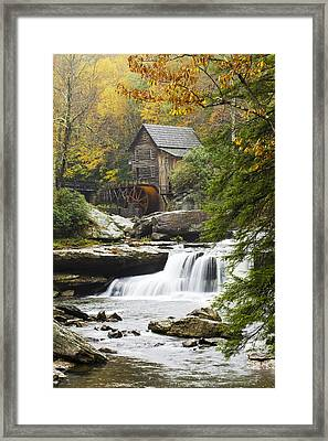 Grist Mill No. 2 Framed Print by Harry H Hicklin