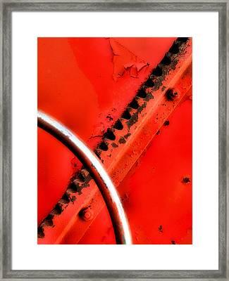 Groovy Framed Print by Tom Druin