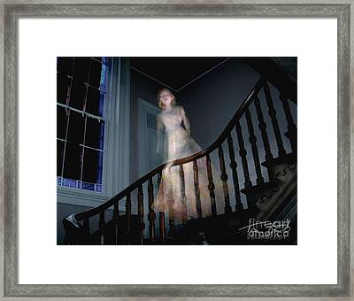 Grosvenor Ghost Framed Print by Tom Straub