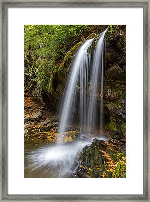 Grotto Falls Great Smoky Mountains Framed Print by Pierre Leclerc Photography