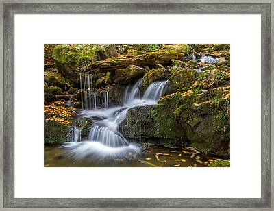 Grotto Falls Great Smoky Mountains Tennessee Framed Print by Pierre Leclerc Photography