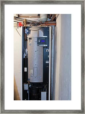 Ground Source Heat Pump Framed Print by Ashley Cooper