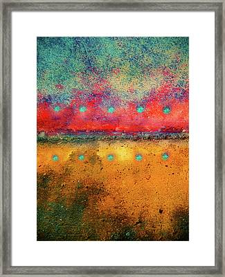 Grounded Framed Print by Tara Turner