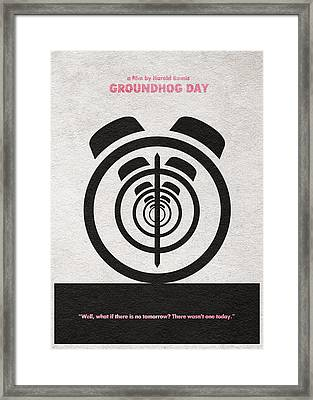 Groundhog Day Framed Print by Ayse Deniz