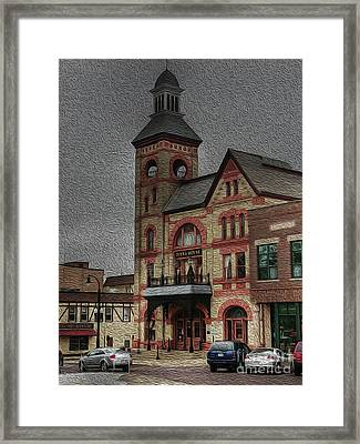 Groundhog Day Framed Print by David Bearden