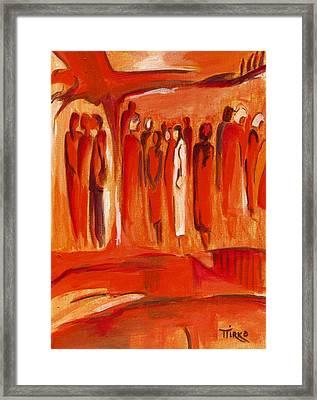 Group Nr.11 - 1999 Framed Print by Mirko Gallery