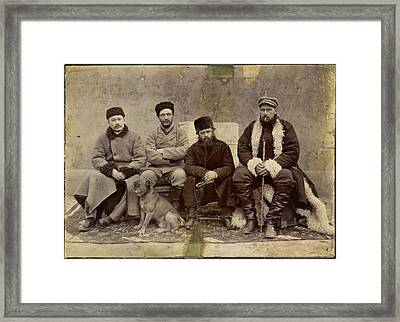 Group Photograph Framed Print by British Library