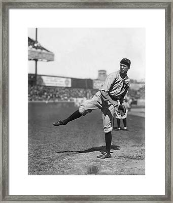 Grover Cleveland Alexander Follow Through Framed Print by Retro Images Archive