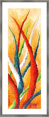 Grow 2 Framed Print by Michelle Boudreaux