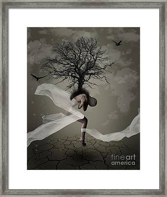 Grow A Spine Framed Print by Andrea Aycock
