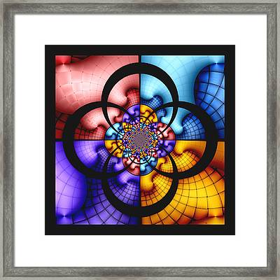 Growth Patterns Framed Print by Wendy J St Christopher
