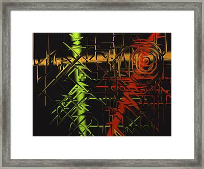 Grunge Framed Print by Michael Jordan