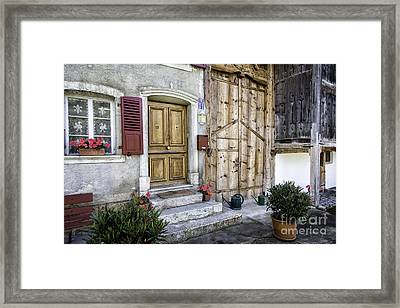 Gruyeres Home Framed Print by Timothy Hacker