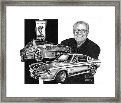 Gt 500c Framed Print by Peter Piatt