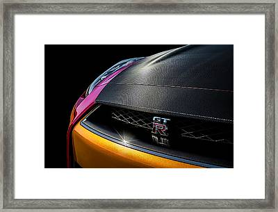 GTR Framed Print by Douglas Pittman