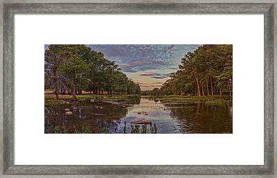 Guadalupe Sunrise Framed Print by Casey Marvins