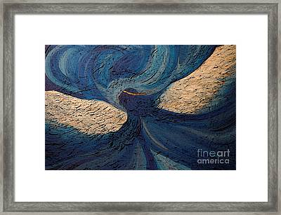 Guardian Angel By Jrr Framed Print by First Star Art