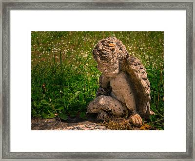Guardian Angel Framed Print by Jean Noren