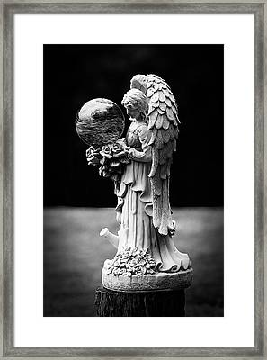 Guardian Angel Framed Print by Lorna Rogers Photography
