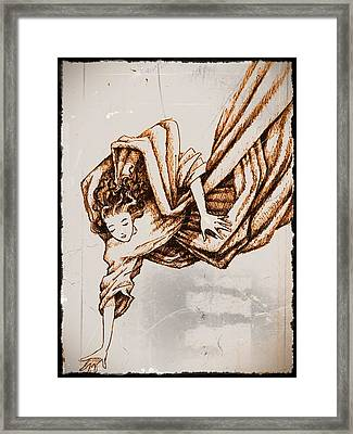 Guardian Angel Framed Print by Paulo Zerbato