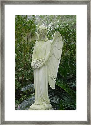 Guardian Angel Framed Print by Suzanne Gaff