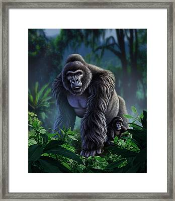 Guardian Framed Print by Jerry LoFaro