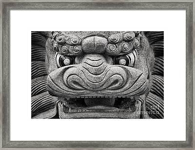 Guardian Framed Print by Rod McLean