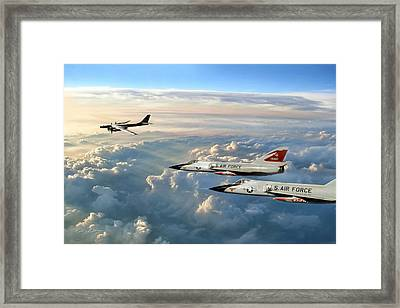 Guardians Of The North 87th F I S Framed Print by Peter Chilelli