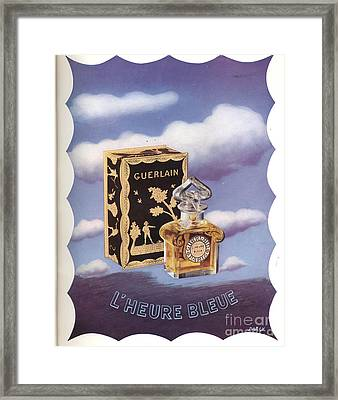 Guerlain 1930s Usa Framed Print by The Advertising Archives