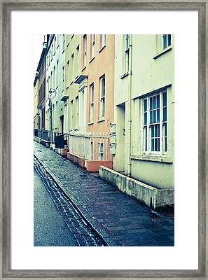 Guernsey Street Framed Print by Tom Gowanlock