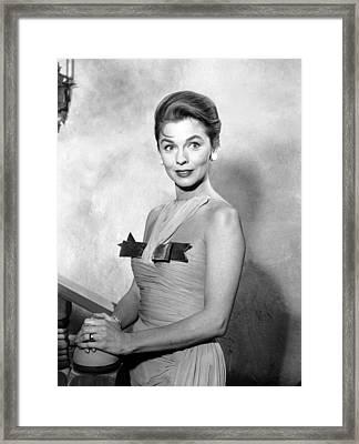 Guestward Ho, Joanne Dru, 1960-61 Framed Print by Everett