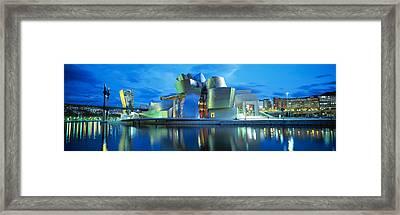 Guggenheim Museum, Bilbao, Spain Framed Print by Panoramic Images