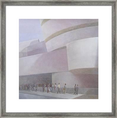 Guggenheim Museum New York 2004 Framed Print by Lincoln Seligman