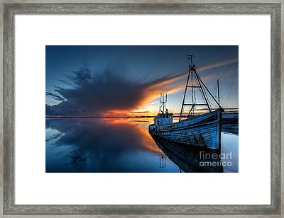 Guided By The Light Framed Print by English Landscapes
