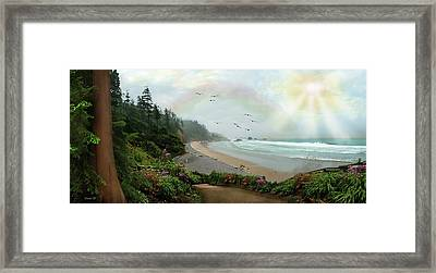 Guided Framed Print by David M ( Maclean )