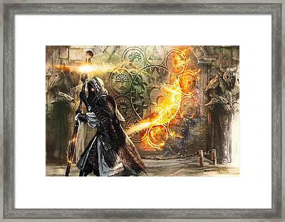 Guildscorn Ward Framed Print by Ryan Barger