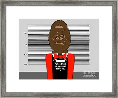 Guilty Framed Print by Marvin Blaine