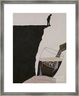 Guinness Is Good For You Framed Print by Philip G