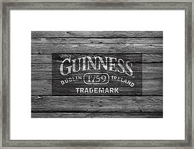 Guinness Framed Print by Joe Hamilton