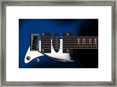 Guitar 3 Framed Print by Mark Ashkenazi