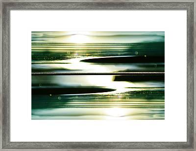 Guitar Galaxy Framed Print by Laura Fasulo