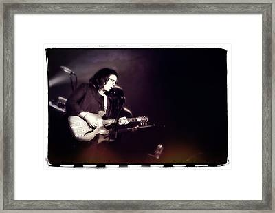 Guitarist Brittany Howard - Alabama Shakes Framed Print by The  Vault - Jennifer Rondinelli Reilly
